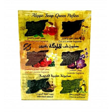 Alepposeife 6er Duftbox